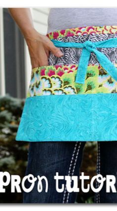 here's how to make those utility aprons - great for a craft booth, etc!