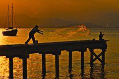 """""""Tarde de pescaria"""" by Sanchez JMC, via 500px."""