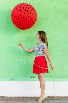 DIY Watermelon Ballo