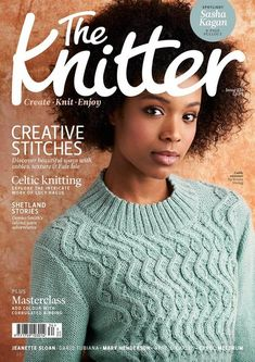 Ravelry: The Knitter, Issue 134 - patterns Knitting Books, Knitting Stitches, Knitting Patterns Free, Knit Patterns, Free Knitting, Stitch Patterns, Jumper Patterns, Vogue Knitting, Knitting Ideas