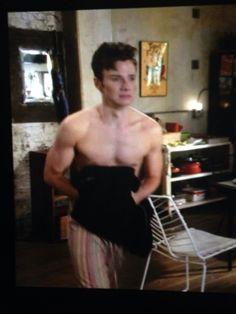 colfer shirtless Chris