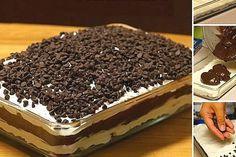 La lasagne au chocolat... Un dessert digne des Dieux!
