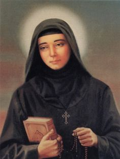 "St. Rafqa (Arabic for Rebecca), a Lebanese Maronite, suffered for 17 years as a blind paralytic. Only God knew how much she had to endure. Her pain was continuous night and day, yet the other sisters never heard her murmuring or complaining. She often told them that she thanked God for her sufferings, ""...because I know that the sickness I have is for the good of my soul and His glory"" and that ""the sickness accepted with patience and thanksgiving purifies the soul as the fire purifies…"