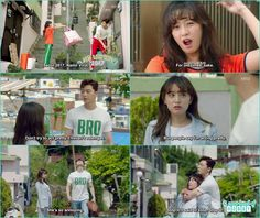 ae ra ask dong man a favor to throw his ex boyfriend stuff - Fight for my Way: Episode 2 korean drama