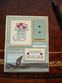 Get Well Card  -Cards by Kimarie  -all materials by Stampin' Up