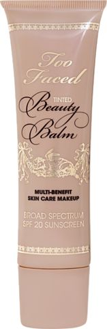 Too Faced Tinted Beauty Balm, a skincare, make-up and skin perfector all-in-one.