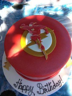 The Flash Cake Ideas / Flash Themed Cakes - Crust N Cakes Flash Birthday Cake, 11th Birthday, Birthday Fun, Birthday Parties, Birthday Cakes, Bolo Flash, Flash Cake, Superhero Cake, Superhero Birthday Party