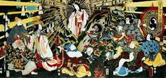 Amaterasu is the Goddess of the sun. She is portrayed in many popular Asian TV shows, such as Yu-Gi-Oh and Naruto.