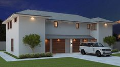 6 Bed + 2 Study Townhouse Plan:269DU