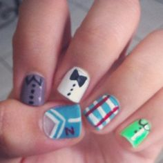 one direction nails