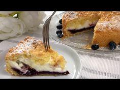 Θα λατρέψετε αυτό το κέικ - νόστιμο κέικ κρέμας με γέμιση φρούτων, συνταγή # 50 - YouTube Bread Recipes, Cooking Recipes, Cake Factory, Cream Cake, Relleno, Family Meals, Nutella, Yogurt, French Toast