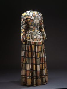 Harlequin robe | NAME Owner:Ulrika Eleonora the Elder of Sweden, 1656-1693
