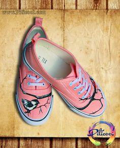 Tenisi personalizati, pictati manual - Piticool ART Mary Janes, Sneakers, Shoes, Art, Fashion, Tennis, Art Background, Moda, Slippers