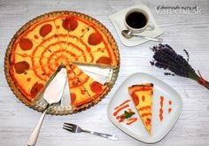 Tvarohový koláč s marhuľami (fotorecept) - Recept