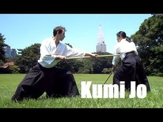 Aikido Kumi Jo 1-5 Basics and Variations - YouTube