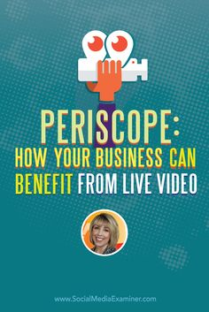 Do you broadcast on Periscope?  Want to use it to connect with and grow your audience?  To discover how to use Periscope for your business, Michael Stelzner interviews @kimgarst. Via @smexaminer.
