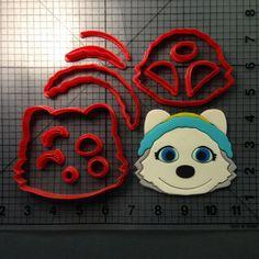 Paw Patrol- Everest Cookie Cutter Set JBCookieCutters.com customizes moldings, cookie cutters, cookie cutter, cutters, cutter, silicone mold, silicone molds, stencil, stencils, baking supplies, baking