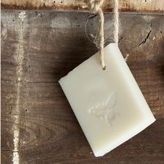 Soap on a rope to hang near your water jug for washing hands.
