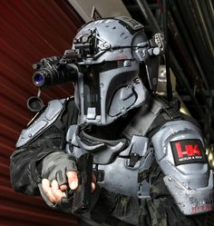 Mandalorian Ballistic Armor | Body armor manufacturer AR500 Armor recently announced they would be collaborati...
