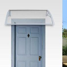 Auvent en kit atlanta structure en r sine 120x42x100 cm - Auvent de porte leroy merlin ...