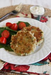 Quick Crab Cakes with Remoulade