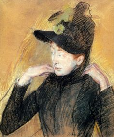 Lady At The Tea Table Mary Cassatt | Mary Cassatt Paintings