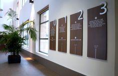 Expertos en proyectos de señalización. En Logopost llevamos más de 30 años diseñando, fabricando e instalando elementos de señalización tanto en interiores como exteriores. Interior Exterior, Divider, Room, Furniture, Home Decor, Ideas, Offices, Wood, Interiors