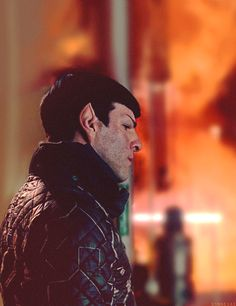 Spock/Zachary Quinto - STiD                                                                                                                                                      More