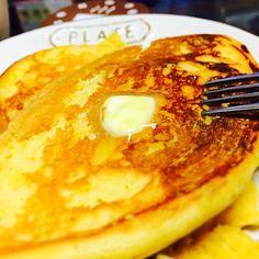 ホットケーキMIXで作るより糖質が低くてダイエットに◎♥️!  もう何度もリピしてます( ^ω^ )  ダイエット中に甘いものが食べたくなったらこれでお腹を満たします - 13件のもぐもぐ - ヘルシー!大豆粉パンケーキ by IamAsyumu