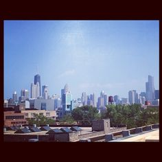 Hey there Chicago (taken from the Whole Foods parking lot)