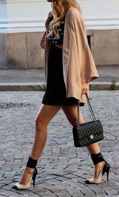Black & tan.