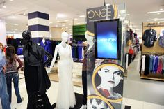 Clothing display at Bloomingdale's 59th Street store to welcome Jennifer…