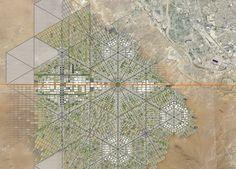 Galería de Border City: la ciudad utópica de Fernando Romero que borra la…