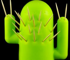 Cactooph Toothpick Holder- Love this