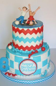 trampoline birthday cake ideas - Google Search
