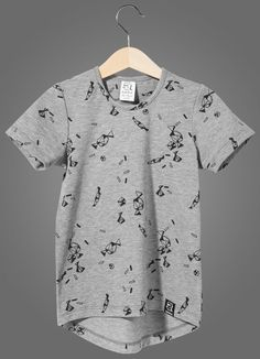 Kukukid Grey Melange Candies T-Shirt - A Little Bit of Cheek