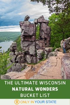 9 Wisconsin Natural Wonders You Need To Add To Your Outdoor Bucket List For 2020 Cool Places To Visit, Places To Travel, Best Bucket List, Park Pictures, Hidden Beach, Natural Bridge, County Park, Natural Wonders, State Parks