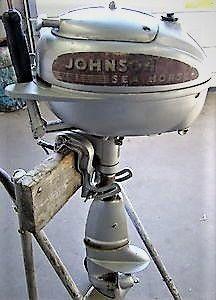 1942 Johnson Seahorse 5hp Outboard
