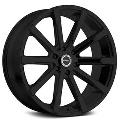 "26"" Strada Wheels Osso Stealth Black Rims"