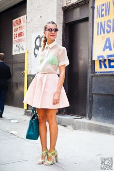 4. #Sheer - Old Trends That Are Well on #Their Way Back ... → #Fashion #Updated