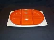 Vintage / Retro Bessemer Ware Divided Serving Tray