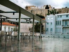 Acropolis Museum Restaurant, photo by Manteau Stam