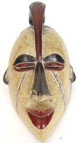 Punu Mask with Bird Crest | West Africa
