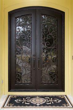 "Iron Doors Wrought Iron Entry Doors 61""w x 110""H in Stock Ready to SHIP   eBay"