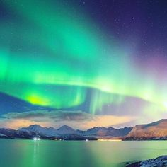 Fun Fact: Did you know?   Astronauts on board the International Space Station are at the same altitude as the Northern Lights and see them from the side. Have you experienced this incredible phenomena?    #norway #northernlights #colourpop #colours #oceanscape #ocean #blog #blogger #travel #traveltheworld #travelphotography #travels#travelgram #instadaily #europe  #landscape #landscapephotography #canon #bbc #natgeotravel #canon5dmarkiii #travelblog #51countriesandcounting #wanderlust…