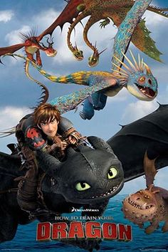How To Train Your Dragon Regular Poster (01-0331)