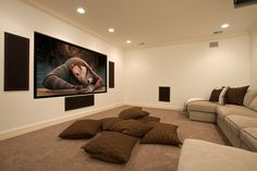 would love a home cinema at home, the bigger the better!