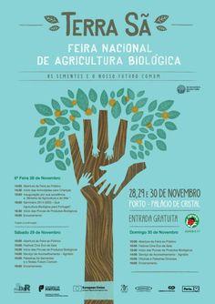 Terra Sã - Agricultura Biológica no Porto Terra, Entrepreneurship, Crystal Palace, November Born, Crystals, Porto, Agriculture