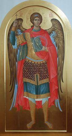 Александр Деркачёв Religious Images, Religious Icons, Religious Art, Byzantine Icons, Byzantine Art, Order Of Angels, Archangel Raphael, Historical Art, Catholic Art