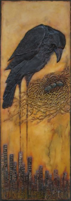 Diane Kleiss  International Encaustic Artists - Encaustic Work